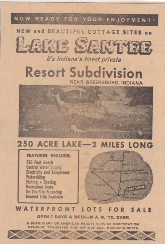 Lake Santee Starts