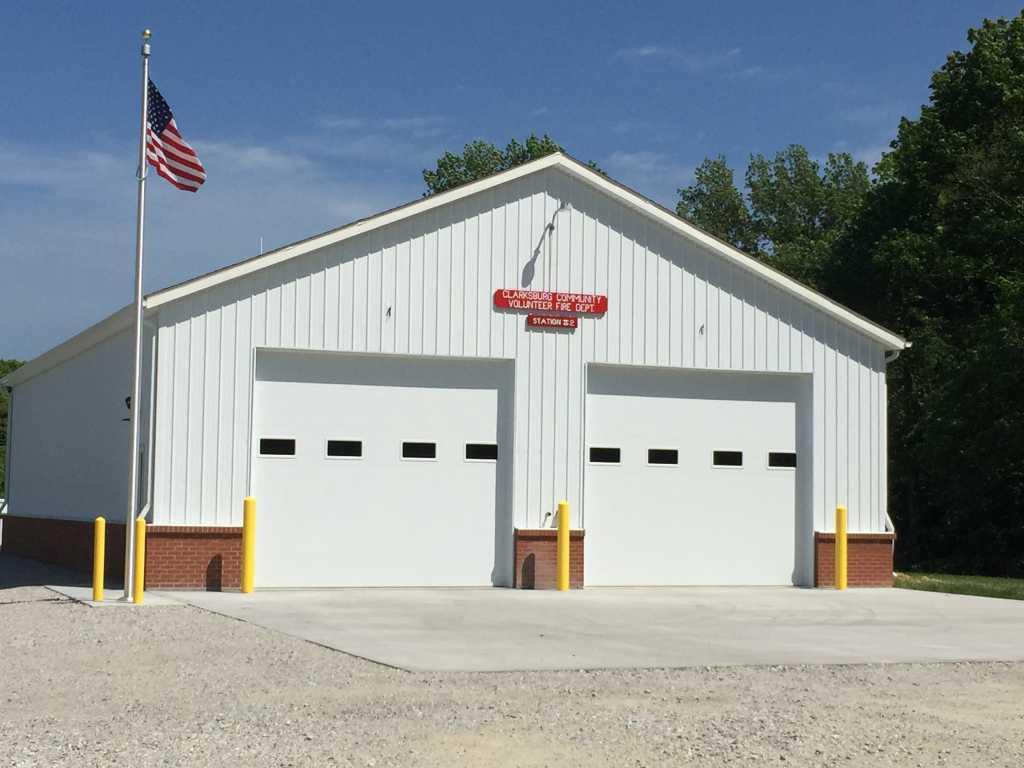 Clarksburg Community Volunteer Fire Department Lake Santee Station #2