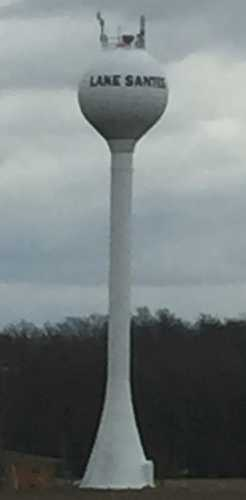 Lake Santee RWWD Water Tower