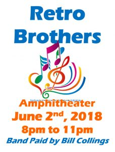 Retro Brothers Band @ Amphitheater