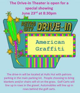 "Drive-In Theater ""American Graffiti"" @ Main Parking Lot"