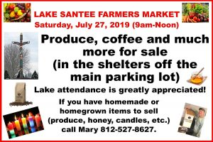 Special Event: Lake Santee Farmers Market